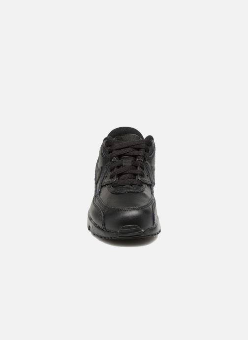 Sneakers Nike Nike Air Max 90 Ltr (Ps) Nero modello indossato