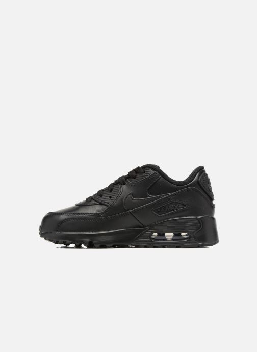 Baskets Nike Nike Air Max 90 Ltr (Ps) Noir vue face