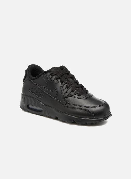online store c639c 0b30c Baskets Nike Nike Air Max 90 Ltr (Ps) Noir vue détail paire