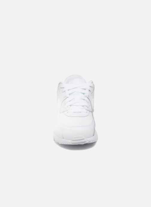 Trainers Nike Nike Air Max 90 Ltr (Ps) White model view