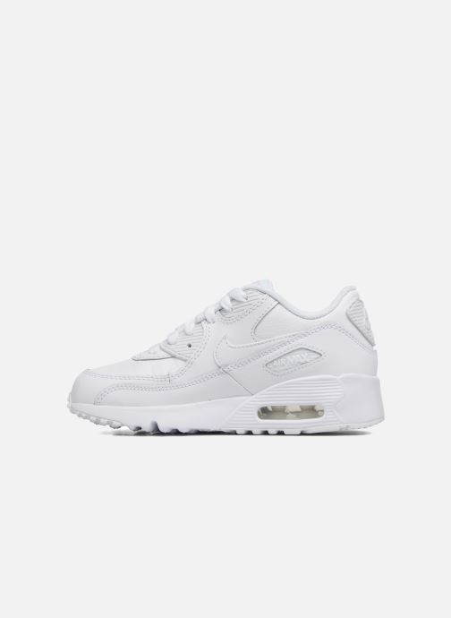 Trainers Nike Nike Air Max 90 Ltr (Ps) White front view