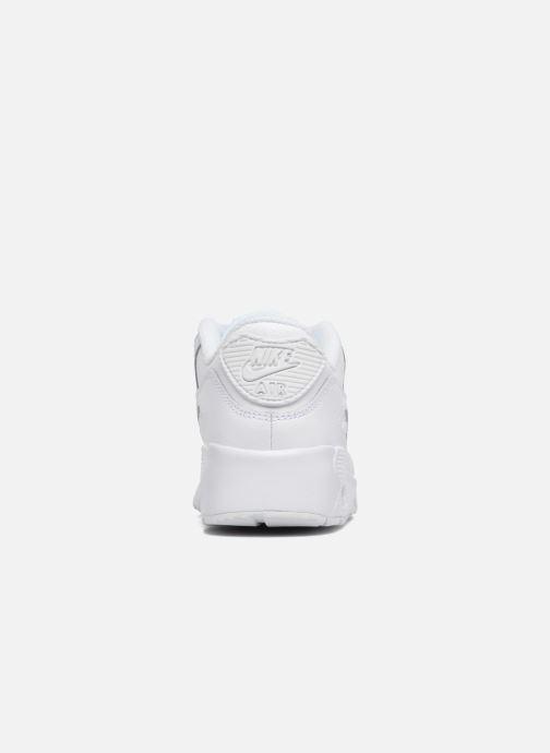 Sneakers Nike Nike Air Max 90 Ltr (Ps) Hvid Se fra højre
