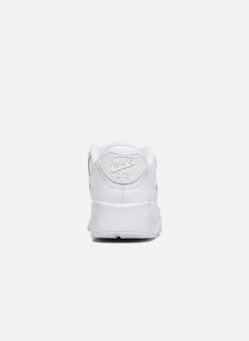 Trainers Nike Nike Air Max 90 Ltr (Ps) White view from the right