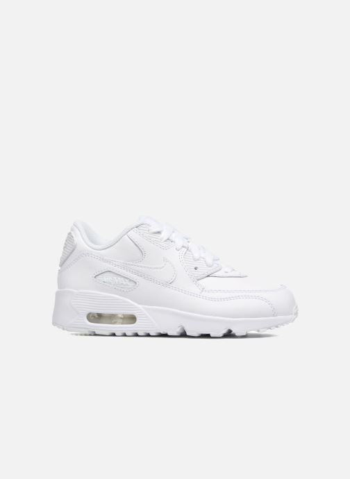 Trainers Nike Nike Air Max 90 Ltr (Ps) White back view