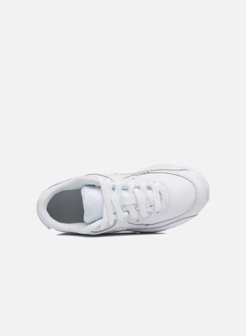 Sneaker Nike Nike Air Max 90 Ltr (Ps) weiß ansicht von links