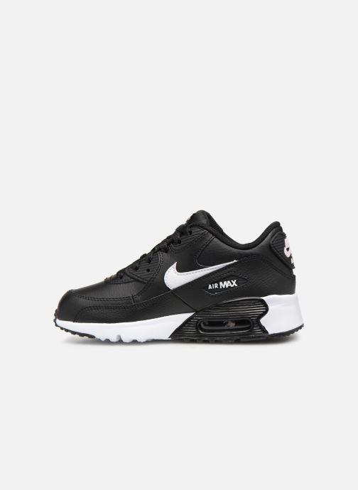 Baskets Nike Nike Air Max 90 Ltr (Ps) Noir vue face