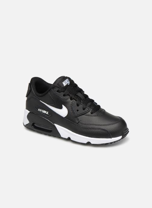 pretty nice 9e99b 7fcf7 Baskets Nike Nike Air Max 90 Ltr (Ps) Noir vue détailpaire