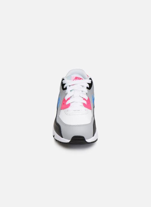 Baskets Nike Nike Air Max 90 Ltr (Ps) Blanc vue portées chaussures