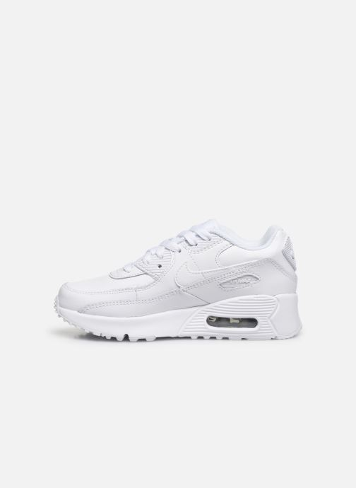 Sneakers Nike Nike Air Max 90 Ltr (Ps) Wit voorkant