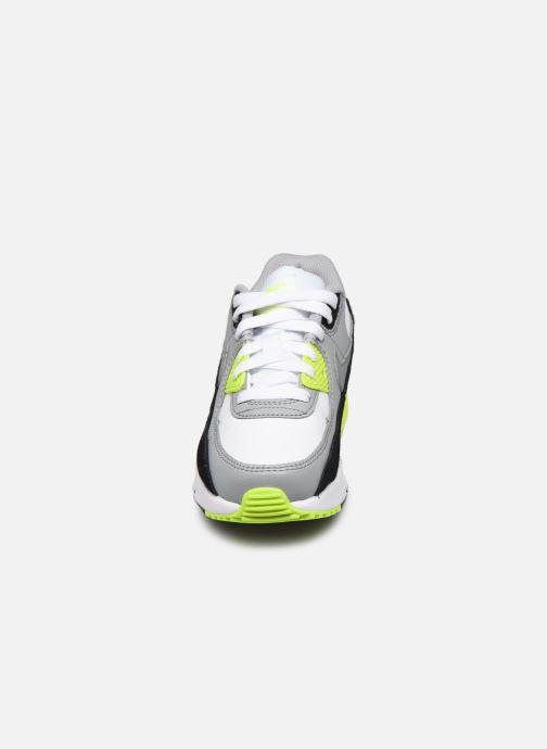 Baskets Nike Nike Air Max 90 Ltr (Ps) Gris vue portées chaussures