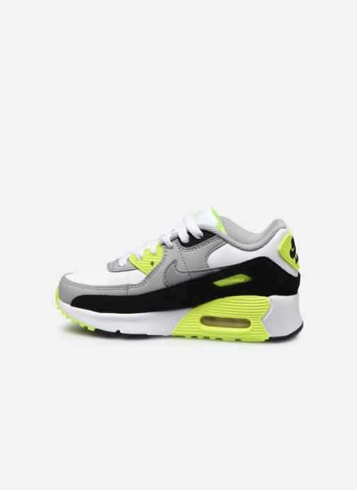 Trainers Nike Nike Air Max 90 Ltr (Ps) Grey front view
