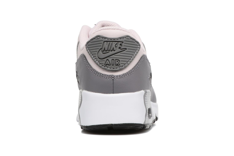 Baskets Nike Nike Air Max 90 Ltr (Ps) Rose vue droite