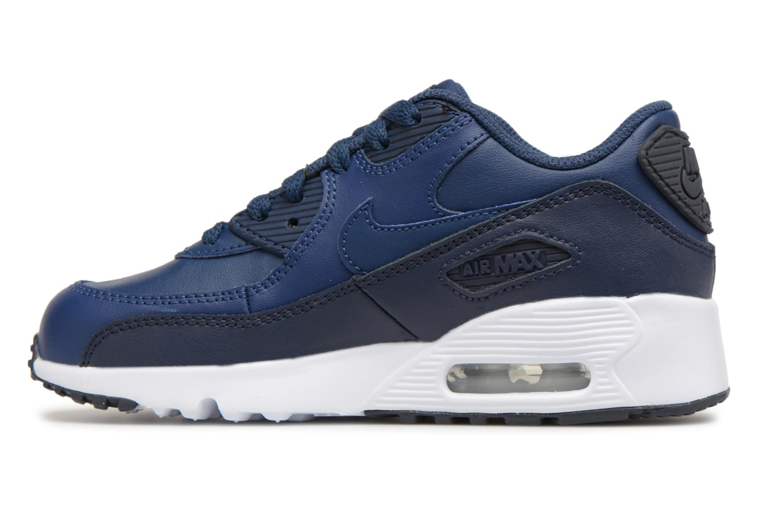 Baskets Nike Nike Air Max 90 Ltr (Ps) Bleu vue face