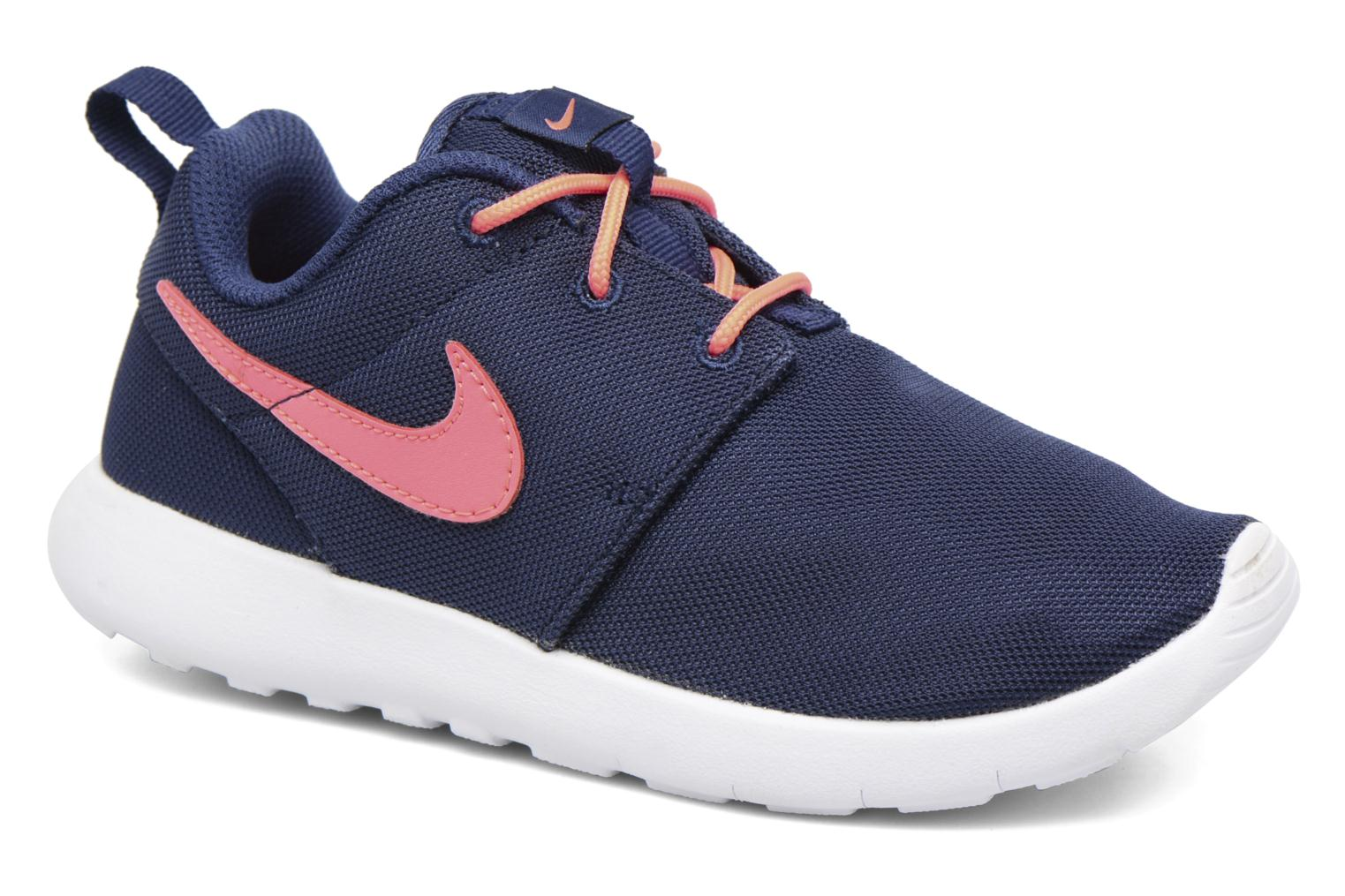 Baskets Nike Nike Roshe One (Ps) Bleu vue détail/paire
