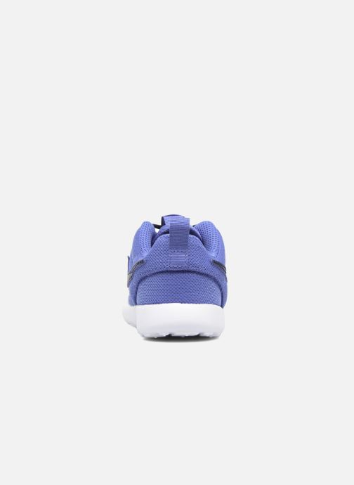 Deportivas Nike Nike Roshe One (Tdv) Azul vista lateral derecha