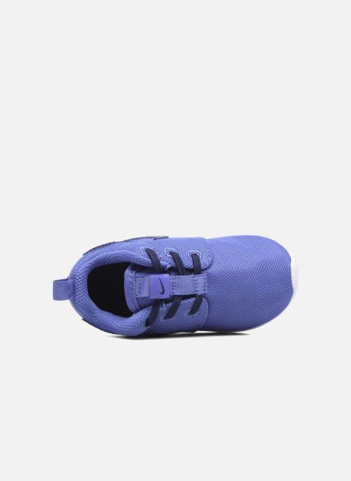 Deportivas Nike Nike Roshe One (Tdv) Azul vista lateral izquierda
