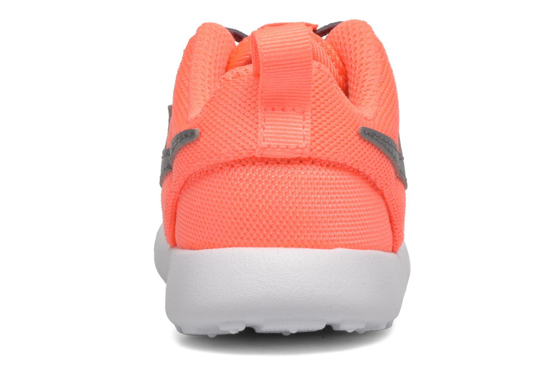 Sneakers Nike Nike Roshe One (Tdv) Arancione immagine destra
