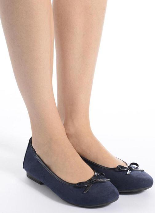 Ballerines Jana shoes Aciego Rose vue bas / vue portée sac