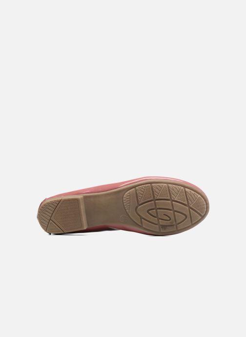 Ballerines Jana shoes Aciego Rose vue haut