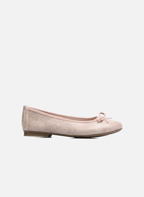 Ballet pumps Jana shoes Aciego Pink back view