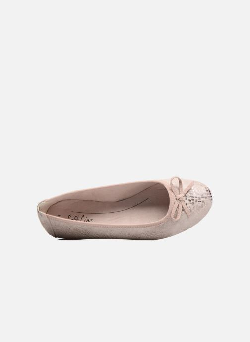 Ballet pumps Jana shoes Aciego Pink view from the left