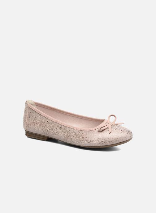 Ballet pumps Jana shoes Aciego Pink detailed view/ Pair view