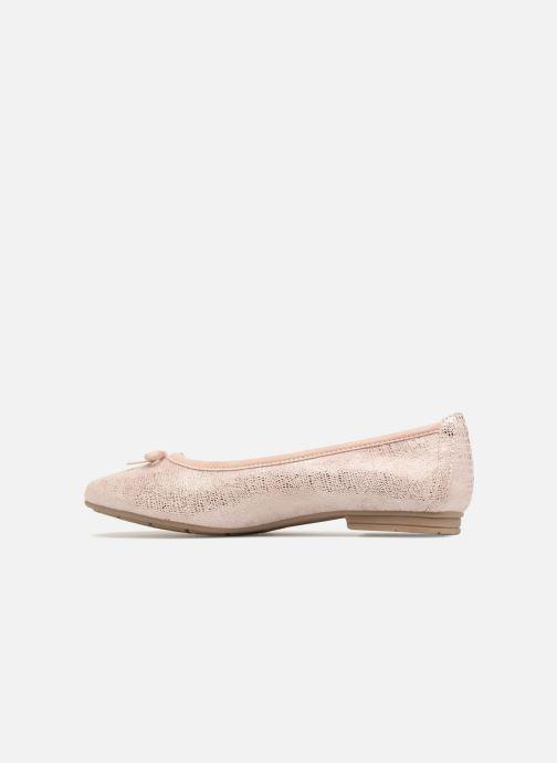 Ballet pumps Jana shoes Aciego Pink front view