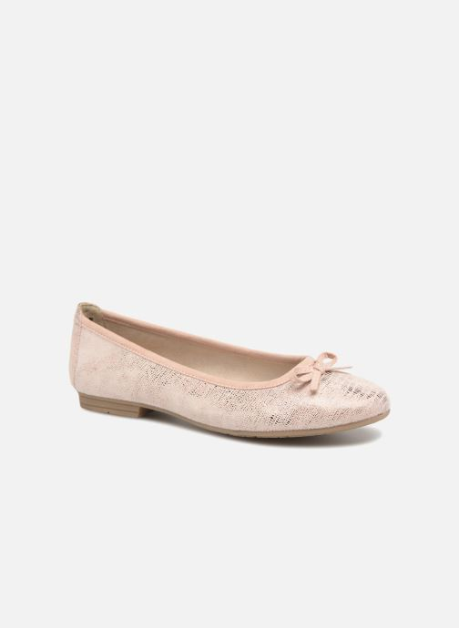 Ballet pumps Jana shoes Aciego Pink detailed view/ Pair view
