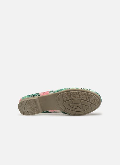 Ballerines Jana shoes Aciego Multicolore vue haut