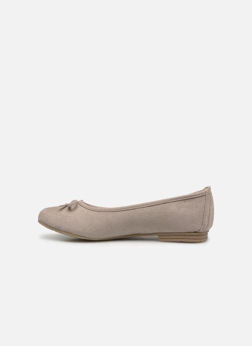 Bailarinas Jana shoes Aciego Gris vista de frente