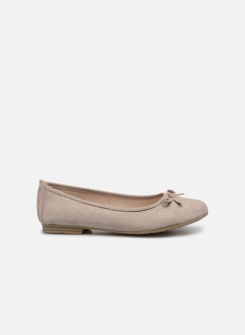 Ballerines Jana shoes Aciego Gris vue derrière