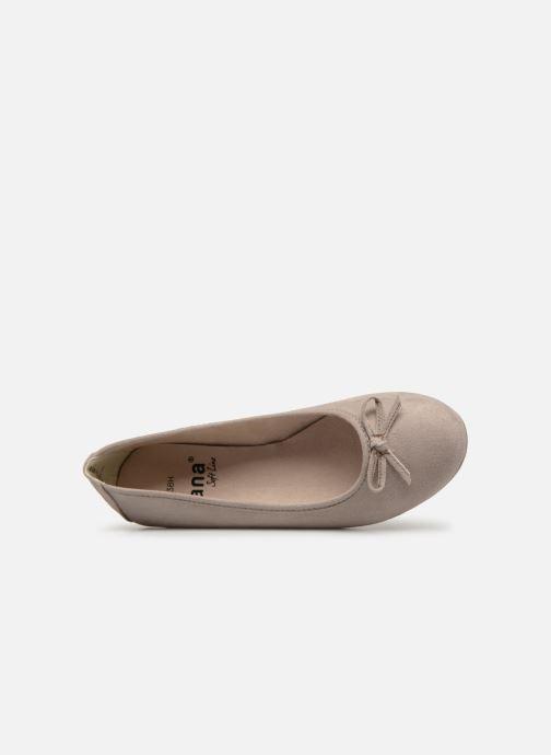 Ballerina's Jana shoes Aciego Grijs links