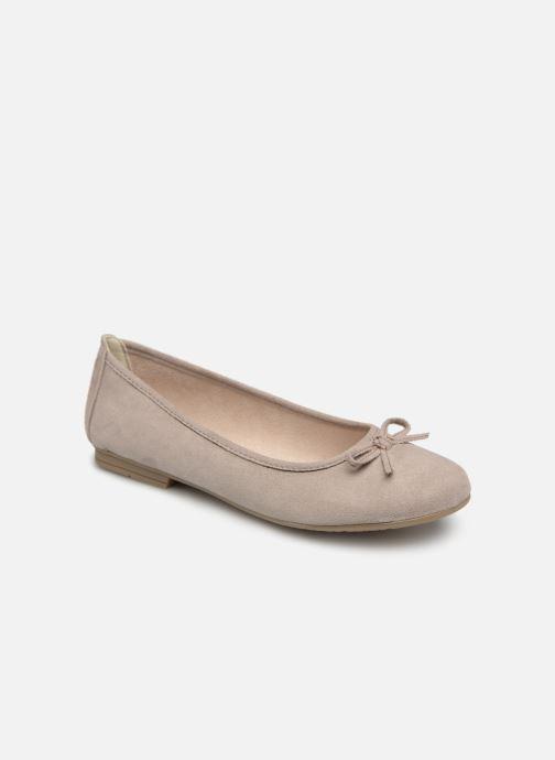 Ballerines Jana shoes Aciego Gris vue détail/paire