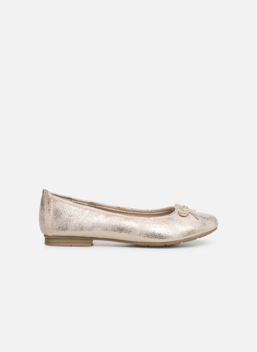 Ballerina's Jana shoes Aciego Goud en brons achterkant