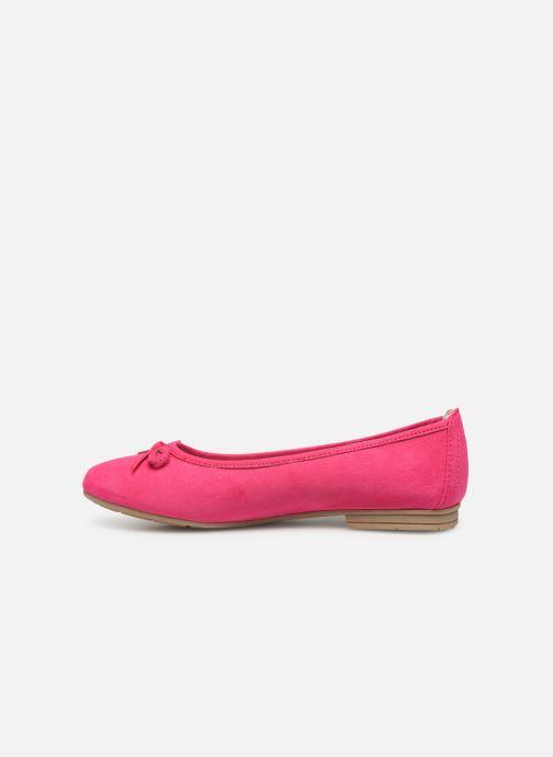 Ballerines Jana shoes Aciego Rose vue face