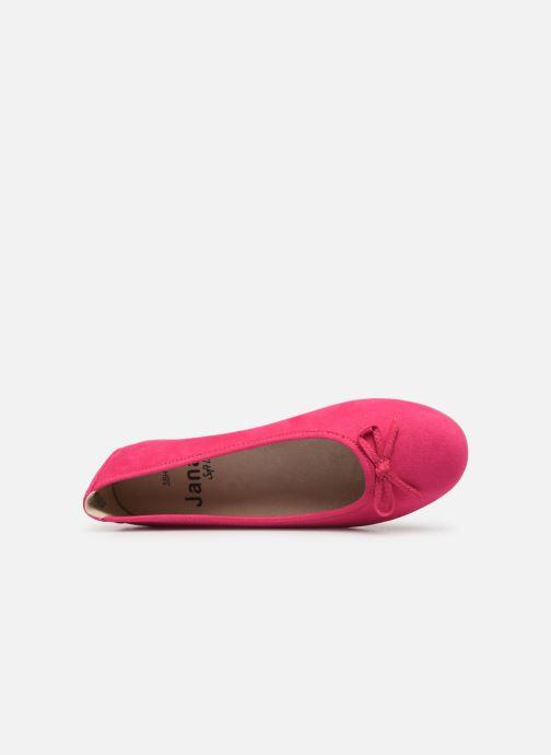 Ballerines Jana shoes Aciego Rose vue gauche