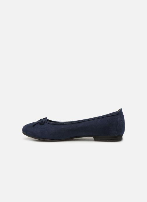 Ballerines Jana shoes Aciego Bleu vue face