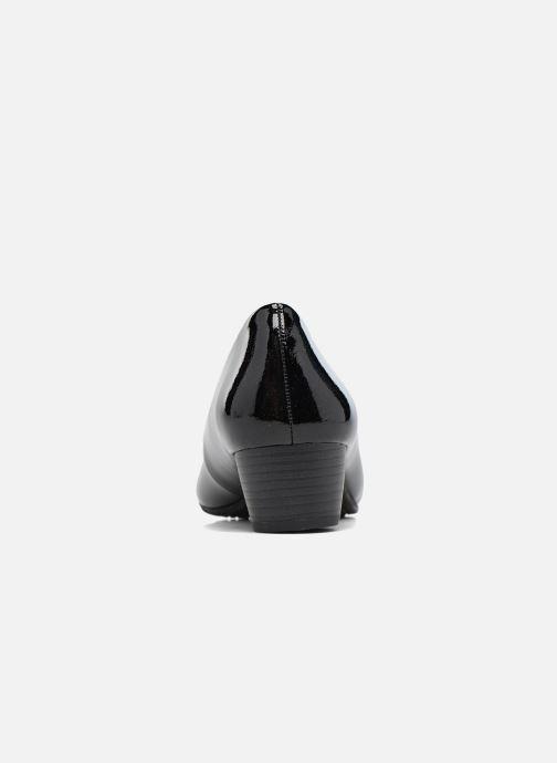 Escarpins Jana shoes Zudiri Noir vue droite