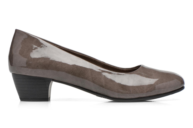 Escarpins Jana shoes Zudiri Beige vue derrière
