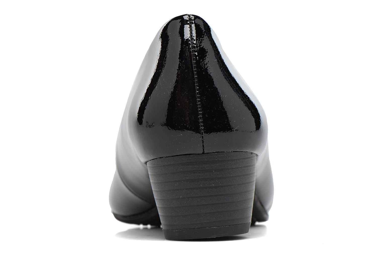 Zapatos de tacón Jana shoes Zudiri Negro vista lateral derecha