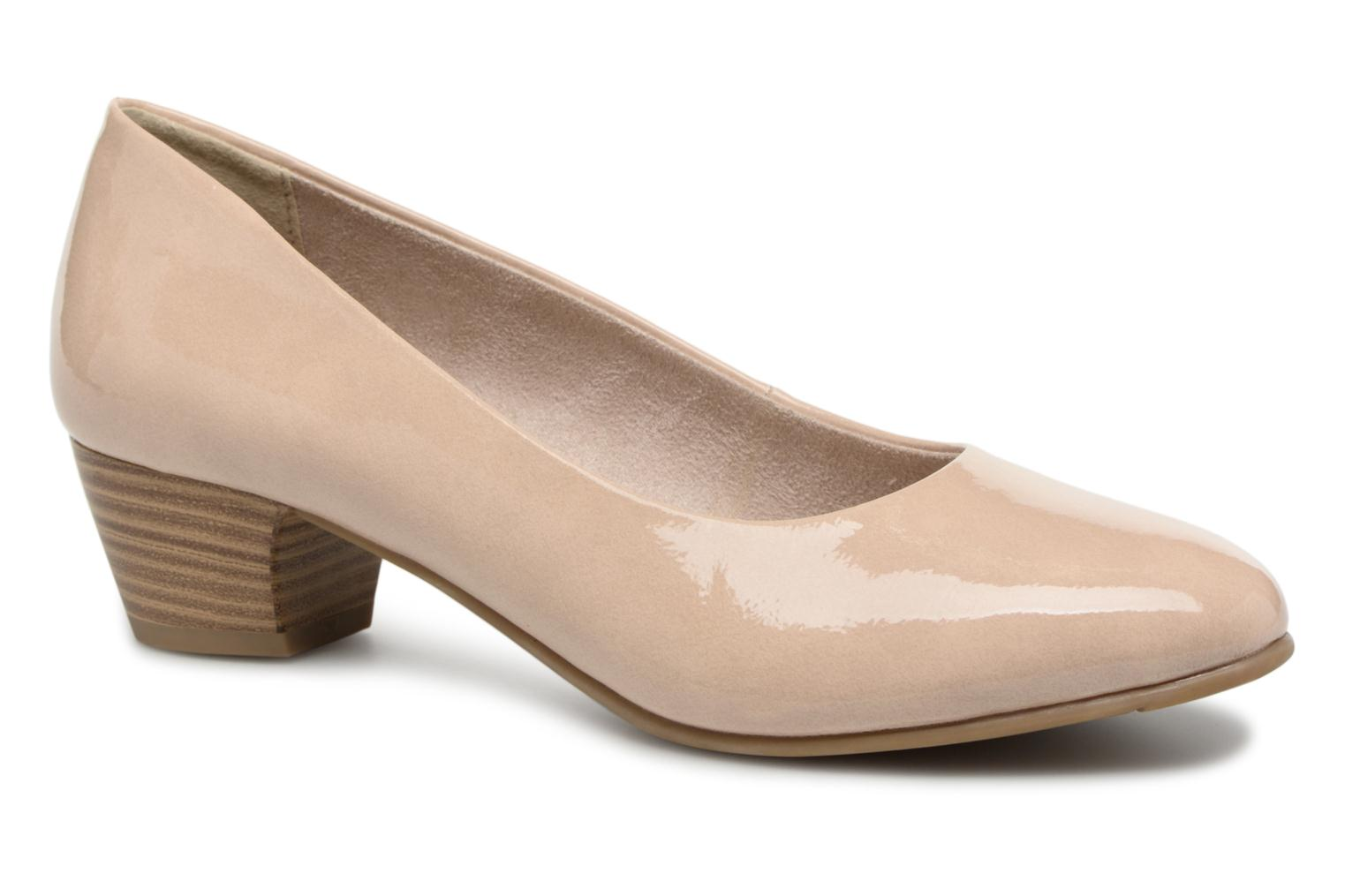 Escarpins Jana shoes Zudiri Beige vue détail/paire