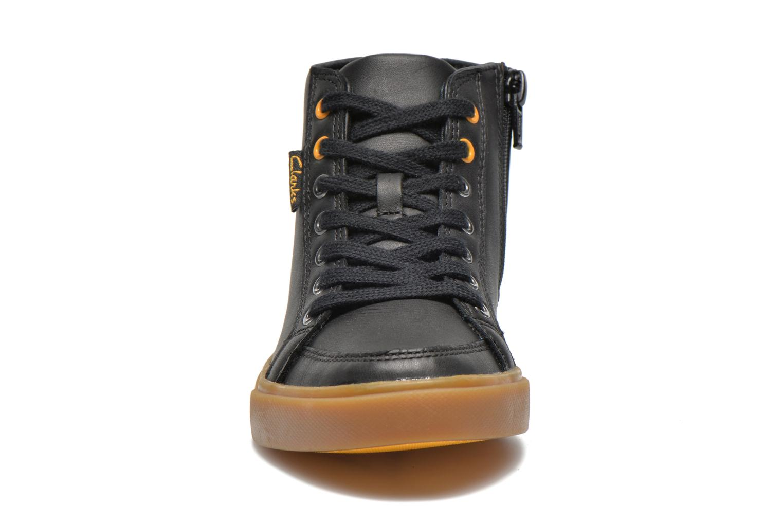 Baskets Clarks Club Jive Noir vue portées chaussures