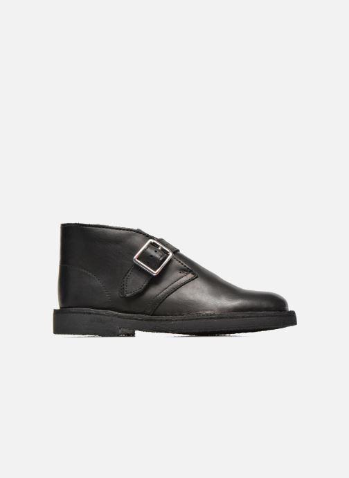 Bottines et boots Clarks Desert Buck Noir vue derrière