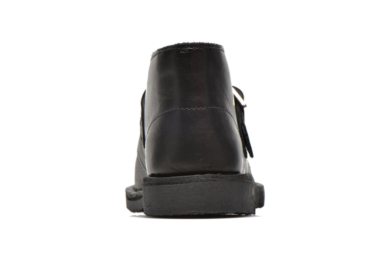 Bottines et boots Clarks Desert Buck Noir vue droite