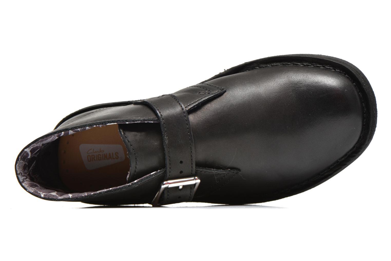 Bottines et boots Clarks Desert Buck Noir vue gauche