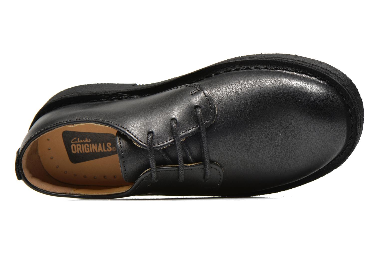 Chaussures à lacets Clarks Desert Lnd Noir vue gauche