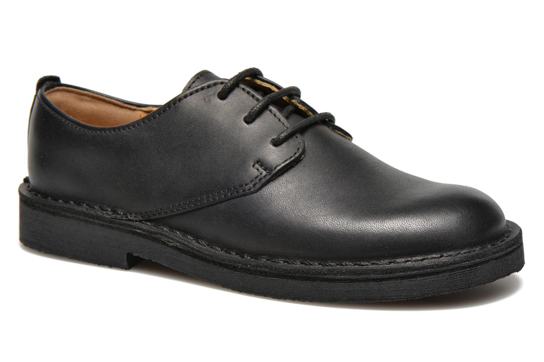 Chaussures à lacets Clarks Desert Lnd Noir vue détail/paire