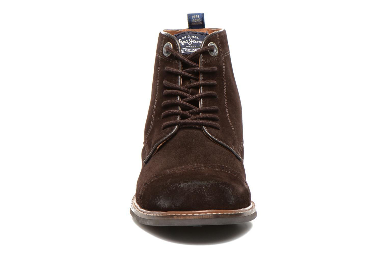 Bottines et boots Pepe jeans Stephen Marron vue portées chaussures