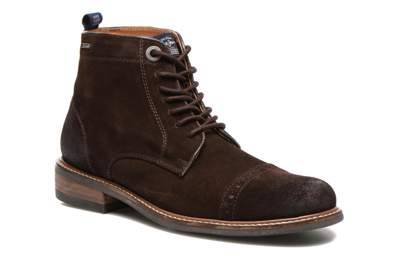 Bottines et boots Pepe jeans Stephen Marron vue détail/paire