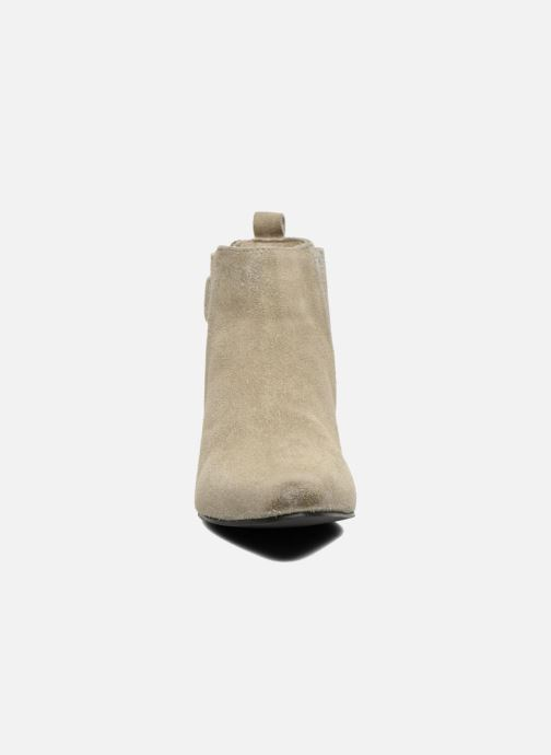 Ankle boots Pepe jeans Redford Half Beige model view